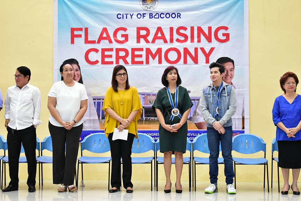 January 16, 2017 – FLAG RAISING CEREMONY | Bacoor ... Raising Ceremony