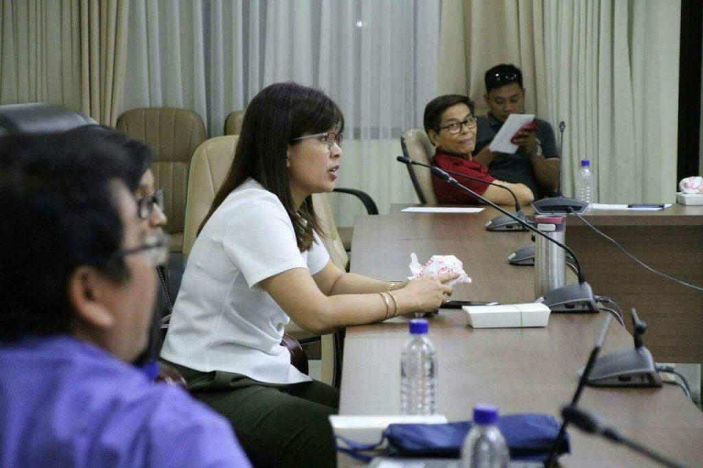 Bacoor City Mayor Lani Mercado Revilla held a meeting with ...