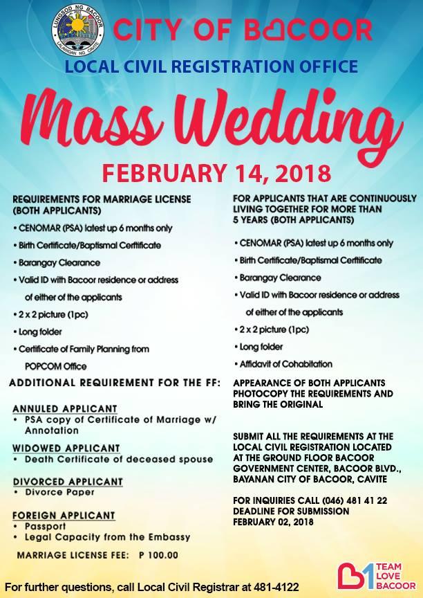 ❣️ best wedding dates 2018 philippines 2019