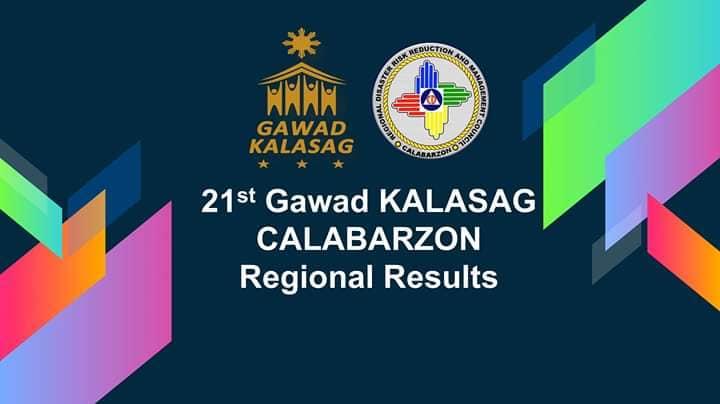 The Gawad Kalasag Calabarzon Regional Selection Committee
